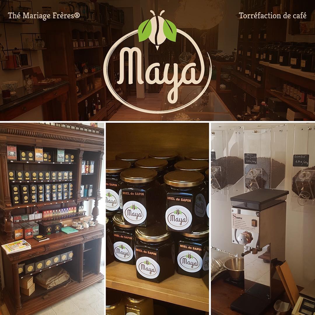 photo de la boutique café thé maya